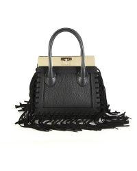 Dee Ocleppo - Roma Mini Convertible Fringed Leather & Suede Tote - Lyst
