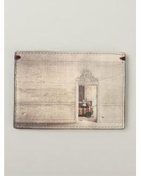 Paul Smith Mini Print Cardholder - Lyst