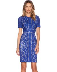 Lover Poppy Fitted Dress - Lyst