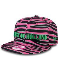House of Holland Pink Zebra New Era Cap pink - Lyst