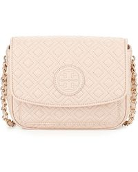 Tory Burch Marion Quilted Mini Shoulder Bag - Lyst
