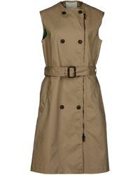 3.1 Phillip Lim Beige Full-length Jacket - Lyst