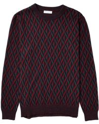 Selected Chivalry Crew Neck Jumper - Lyst