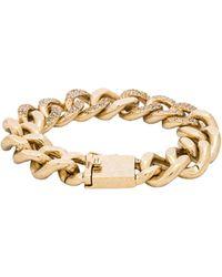 Luv Aj - The Pave Chain Bracelet - Lyst