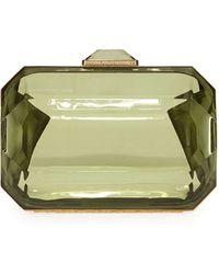 Stella McCartney Rhinestone-Shape Clutch Bag - Lyst
