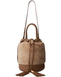 See By Chloé Vicki Handcarry Bucket with Crossbody Strap - Lyst