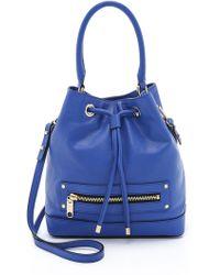 Milly Riley Bucket Bag - French Blue - Lyst