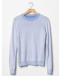 Gap Faded Crew Sweater - Lyst