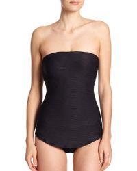 Gottex One-Piece Profile Laser Swimsuit - Lyst