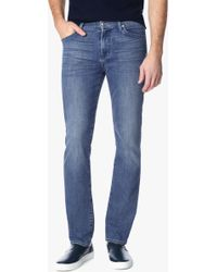 7 For All Mankind | Foolproof Denim: Slimmy Slim Straight In Tribute | Lyst