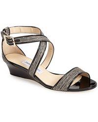 Jimmy Choo 'Chiara' Wedge Sandal - Lyst