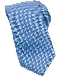 Tom Ford Micro-Check Check Tie - Lyst