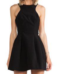 AQ/AQ Kiki Mini Dress - Lyst