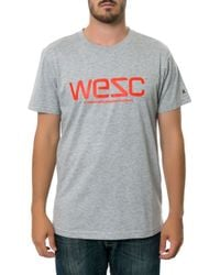 Wesc Gray The Tee - Lyst