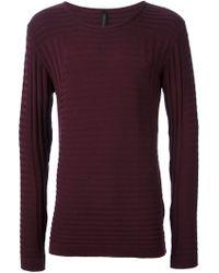 Odeur - 'pattern' Knit Sweater - Lyst