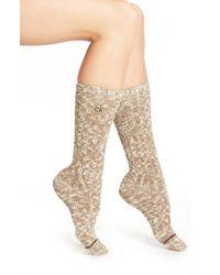 Calvin Klein - 'lorena' Crew Socks - Lyst