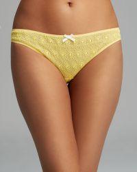 Elle Macpherson Bikini - 1977 #E30-1123 yellow - Lyst
