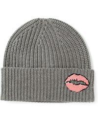 Markus Lupfer - Lips Embellished Beanie - Lyst