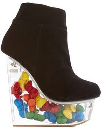 Jeffrey Campbell Window To Your Wonder Wedge - Lyst