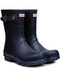 Hunter Original Short Wellington Boot - Lyst