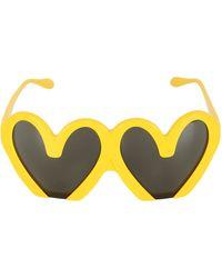 Moschino - M Shaped Sunglasses - Lyst