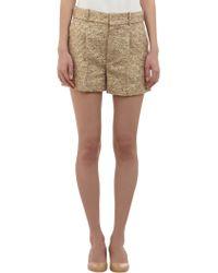 Chloé Tweed Shorts - Lyst