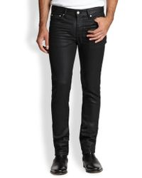 BLK DNM Slim-Leg Coated Jeans - Lyst