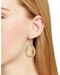 Anna Beck - Open Teardrop Earrings - Lyst