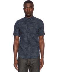 G-Star RAW A Crotch Yoshem Work Shirt - Lyst