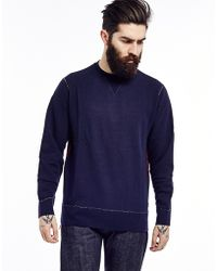 Edwin Classic Sweatshirt With Crew Neck - Lyst