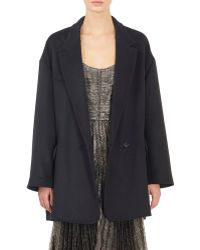 Isabel Marant Celest Caban Coat black - Lyst