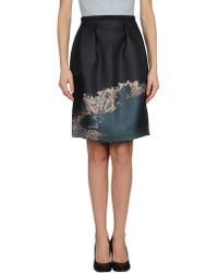 Honor Knee Length Skirt - Lyst
