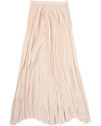 Tess Giberson Long Pleated Skirt - Lyst