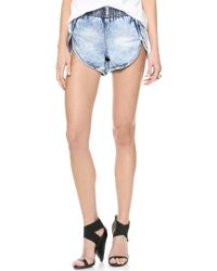 One Teaspoon - Hendrix New Elastic Runner Shorts Hendrix - Lyst