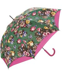 Joules - Posy Double Canopy Walking Umbrella - Lyst