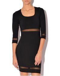 Donna Mizani Scoop Neck Mini Dress - Lyst
