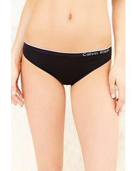 Calvin Klein Seamless Bikini - Lyst