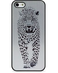 Blissfulcase - Wild Cheetah Black On Gold For Iphone 5/5s - Lyst