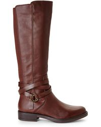 Kenneth Cole Reaction Brown Kent Play Riding Boots - Lyst