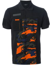 Givenchy Printed Polo Shirt - Lyst
