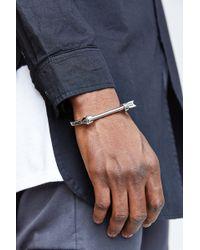 Mister - Arrow Cuff Bracelet - Lyst