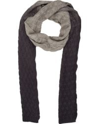 Barneys New York Ombré Knit Scarf - Lyst