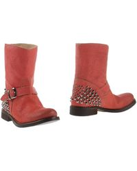 Twin-set Simona Barbieri Ankle Boots - Lyst