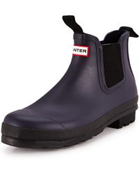 Hunter Original Chealsea Boots - Lyst