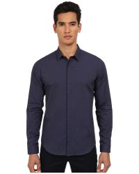 Theory Stephan Ffkasteel Button Up - Lyst