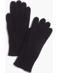 Madewell - Ribbed Texting Gloves - Lyst