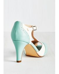 Chelsea Crew - Going To Gait Lengths Heel In Seaglass - Lyst