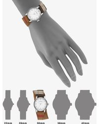 Burberry Stainless Steel Check Double-Strap Watch - Lyst