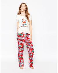 Cath Kidston | Christmas Pyjama Bottoms | Lyst