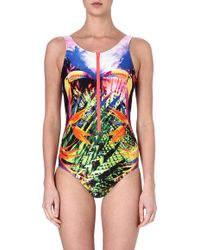 Seafolly Oasis Tank Swimsuit - Lyst